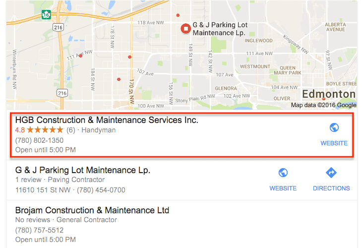 local seo case study